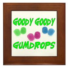 Goody Gumdrops Framed Tile