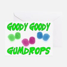 Goody Gumdrops Greeting Card