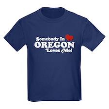 Somebody in Oregon Loves Me T