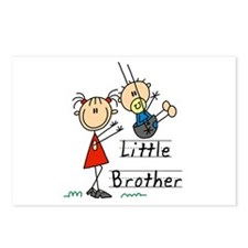 Swing Little Brother Big Sister Postcards (Package