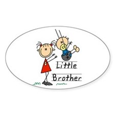 Swing Little Brother Big Sister Decal