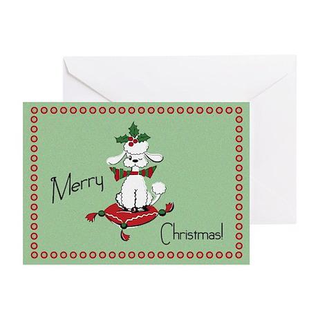 Retro style Dog Christmas Cards