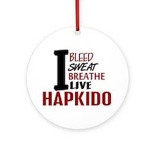 Bleed Sweat Breathe Hapkido Ornament (Round)