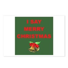 Say Merry Christmas Postcards (Package of 8)