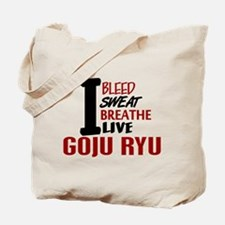 Bleed Sweat Breathe Goju Ryu Tote Bag