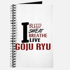 Bleed Sweat Breathe Goju Ryu Journal