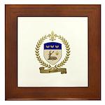 SOULARD Family Crest Framed Tile