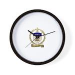 SOULARD Family Crest Wall Clock