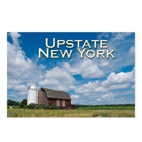 Upstate New York Postcards (Package of 8)