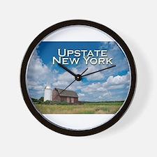 Upstate New York Wall Clock