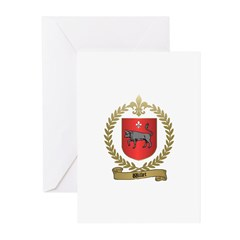 WILLET Family Crest Greeting Cards (Pk of 10)