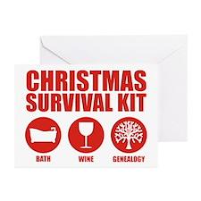 XMAS Survival Kit (A) Greeting Cards (Pk of 10)