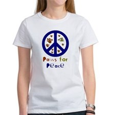 Koy's Logo + Paws 4 Peace Tee