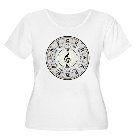 """Pearl"" Circle of Fifths Women's Plus Te"