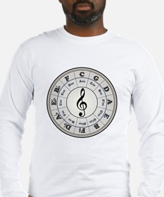 """Pearl"" Circle of Fifths Long Sleeve T-Shirt"