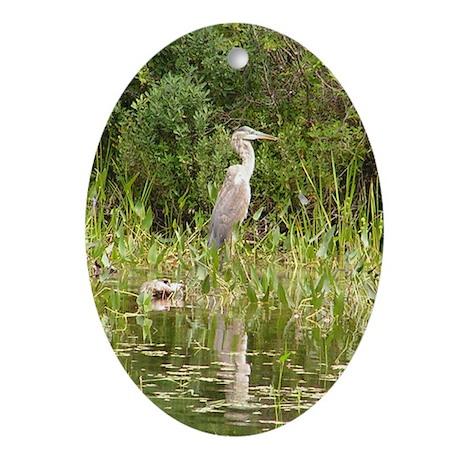 Heron Keepsake (Oval)