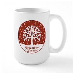 Genealogy Season Large Mug