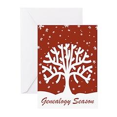 Genealogy Season Greeting Cards (Pk of 10)