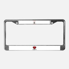 Vampires Love Forever License Plate Frame