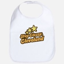 Stay Classy Cleveland Bib