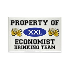 Property of Economist Drinking Team Rectangle Magn