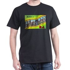 Paterson New Jersey Greetings (Front) T-Shirt