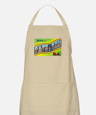 Paterson New Jersey Greetings BBQ Apron