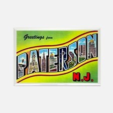 Paterson New Jersey Greetings Rectangle Magnet