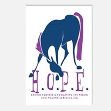 HOPE Horse Rescue Postcards (Package of 8)