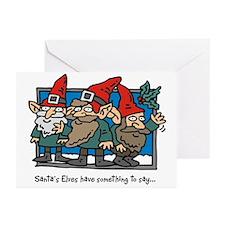 Santa's Elves Greeting Cards (Pk of 10)