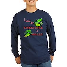 Ginger Beer and Sorrel Men's Long Sleeve T-Shirt