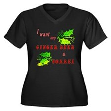 Ginger Beer and Sorrel Women's Plus Size T-Shirt