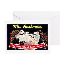 Mt Rushmore South Dakota Greeting Card