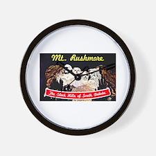 Mt Rushmore South Dakota Wall Clock