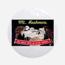 Mt Rushmore South Dakota Ornament (Round)