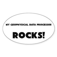 MY Geophysical Data Processor ROCKS! Decal
