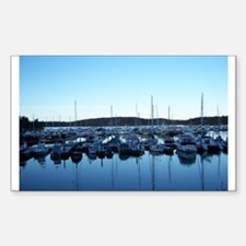 Roche Harbor Rectangle Decal