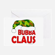 BUBBA/SANTA CLAUS Greeting Card