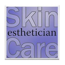 Skin Care Tile Coaster