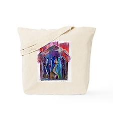 Reyes en el Nacimiento Tote Bag