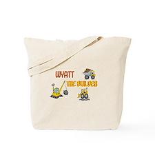 Wyatt the Builder Tote Bag