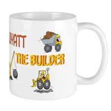 Wyatt the Builder Mug