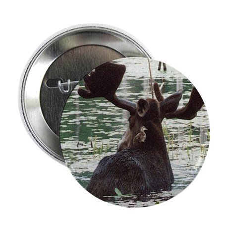 """Moose & Duck Buttons - 10 pack - 2.25"""""""