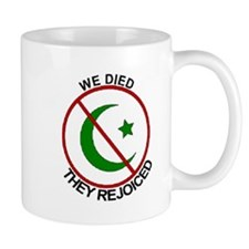 Mug Anti Jihad - We Died They Rejoiced