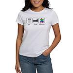 Eat Sleep Educate Women's T-Shirt