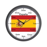 Country flag spain Basic Clocks