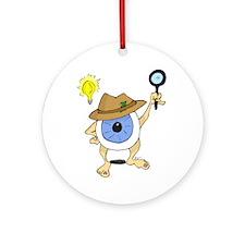 Private Eyeball Ornament (Round)