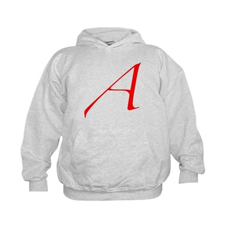 "The Atheist ""A"" Kids Hoodie"