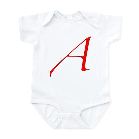 "The Atheist ""A"" Infant Bodysuit"
