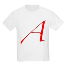 """The Atheist """"A"""" T-Shirt"""